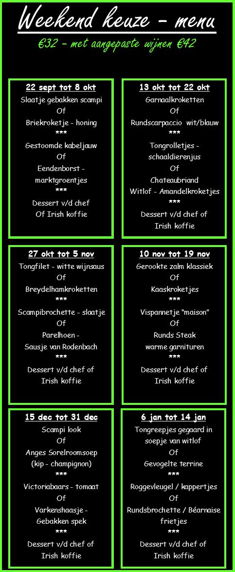 weekend-menu